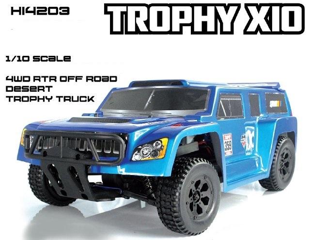 Desert Trophy Truck Electrical 1:10 Mechanics Full 4WD Off-Road HI4203 Himoto