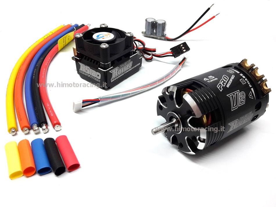 Schema Elettrico Regolatore Per Motori Brushless : Combo rocket motore t kv regolatore a turbo