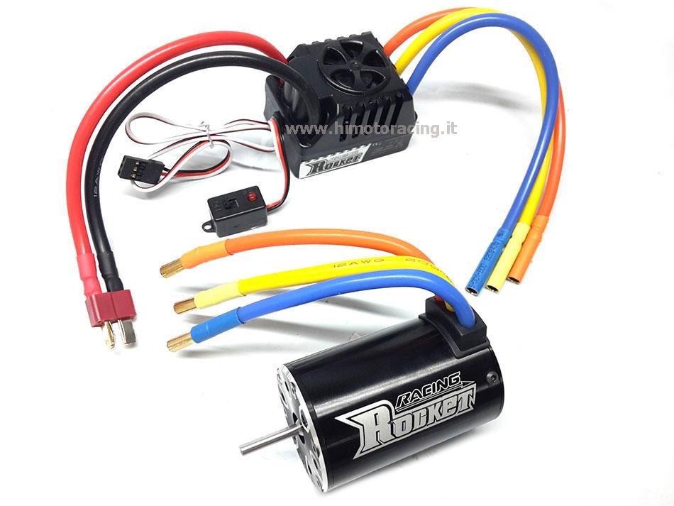 Schema Elettrico Regolatore Per Motori Brushless : Combo rocket motore kv regolatore da a