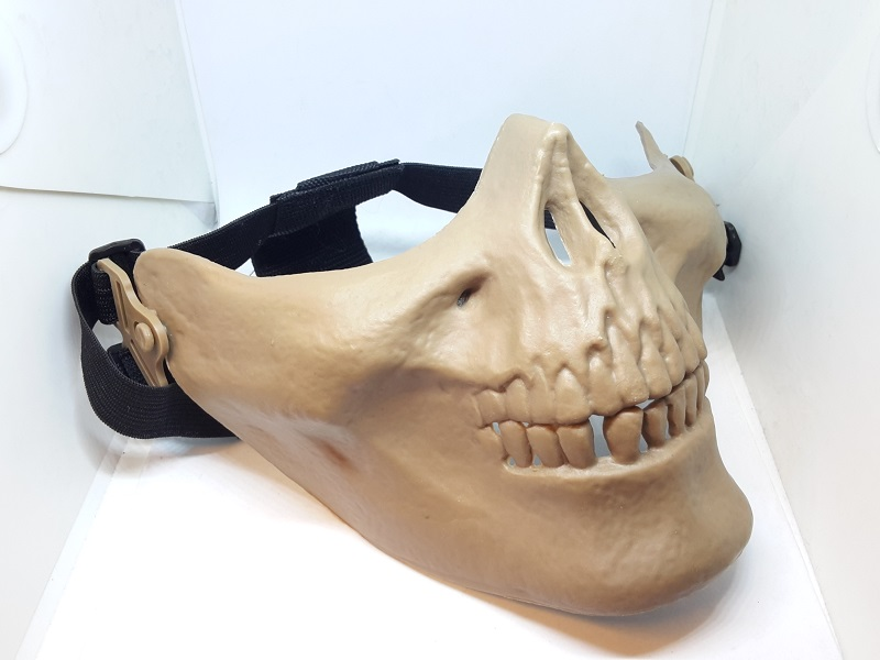maschera bocca softair
